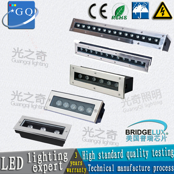 CHINA POST 3w-36w LED underground lamp  light  AC85-265V DC12V rectangle higher cost performance