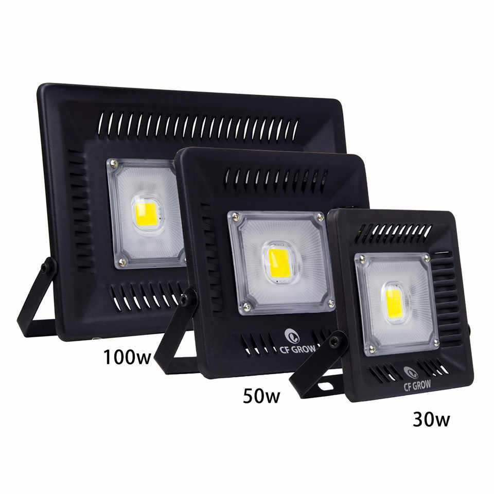 LED Flood Light 100W 12V Floodlights Outdoor Landscape Lighting LED Spotlights Foco Led Exterior Special Engineering Lighting