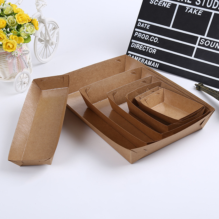 100pcs eco friendly fried chicken popcorn dessert box party food package disposable hot dog bbq. Black Bedroom Furniture Sets. Home Design Ideas