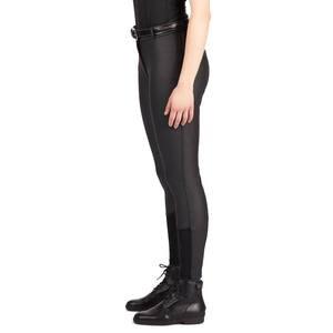 Image 3 - Kobiety bryczesy jeździeckie kobiety miękkie oddychające SkinnyTight spodnie jeździeckie jazda konna nauka Chaps czarny brązowy