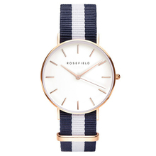 Top Brand  ROSEFIELD Nylon Strap Style Quartz Women Watch  Watches Fashion Casual Fashion Wrist Watch Relogio feminino