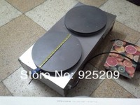 Free Shipping 220v 110V Electric Double End French Pancake Machine Crepe Machine Pancake Grill