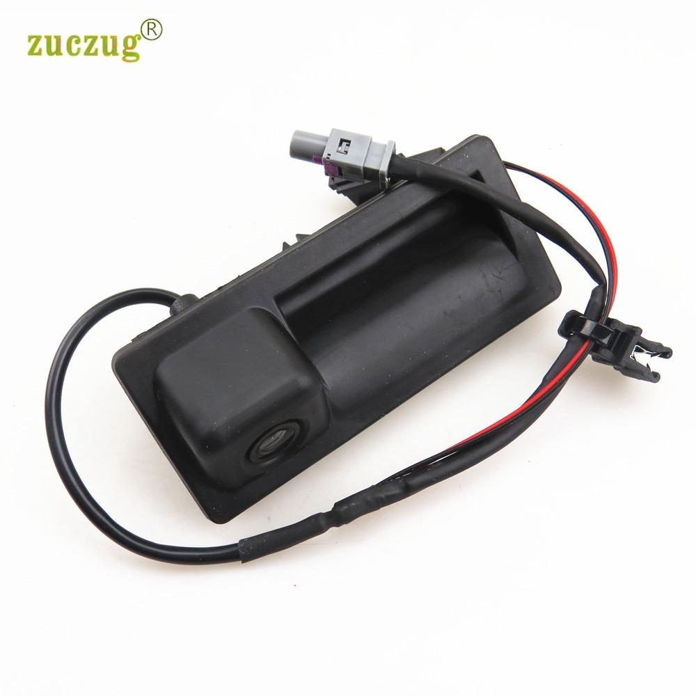 ZUCZUG RCD510 RNS510 12V RGB Car Reversing Rear View Camera For VW Tiguan A4 A5 A6 A7 Q5 S4 S5 S6 5ND 827 566 C 5ND 827 566C