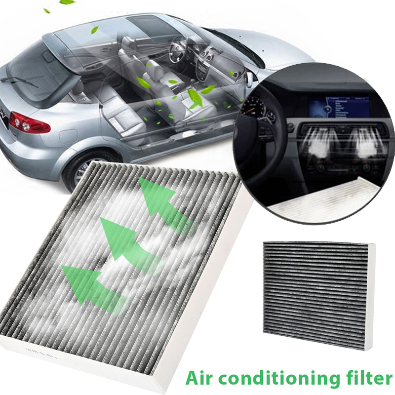 Cabin Air Filter Activated Carbon Original Vehicle Air  Filter Filter Element Car Cabin Fiber Durable Auto tassels pillow