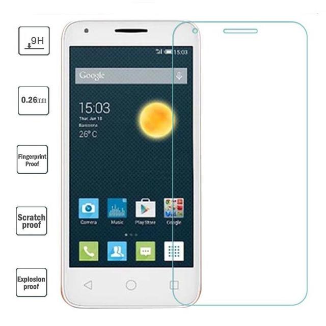 0 26mm Explosion Proof For Alcatel OneTouch pixi 3 5 5 Tempered Glass film  For Alcatel pixi3 5 4 5 4 3 5 Screen Protector 9H-in Phone Screen