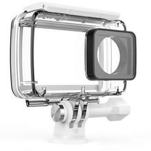 100% Original Xiaoyi Waterproof Case Diving 40m Waterproof for Xiaomi YI 4K Action Camera 2, Yi Camera Accessories and Parts