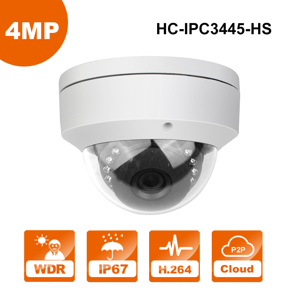 IP Camera 4MP Replace DS-2CD2142FWD-I Dome CCTV Camera 4MP P2P Easytool IP camera POE 12dB WDR Security cam 10pcs lot multi language hik ip camera ds 2cd2345 i replace ds 2cd2335 i 4mp poe 1080p ir night vision cctv security ip camera