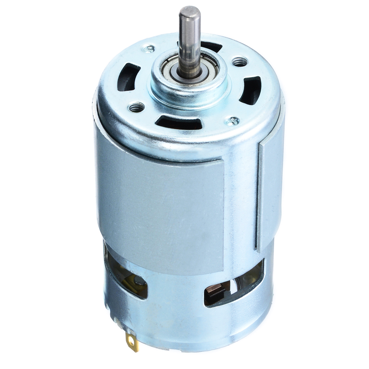 1pc Reliable 775 Micro Motor DC 12-24V 150W 13000-15000RPM Electric High Speed Power Motors 5mm Shaft For Car Wash Pump Sprayer dc 6v 24v high speed micro motor 130 type shaft diameter 2mm 2pcs for smart car ship models