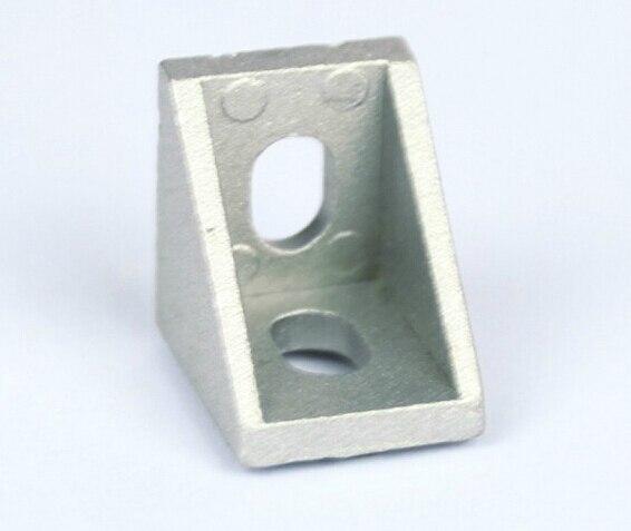 2020 Small Corner Angle Bracket Joint Aluminum Profile Extrusion CNC DIY