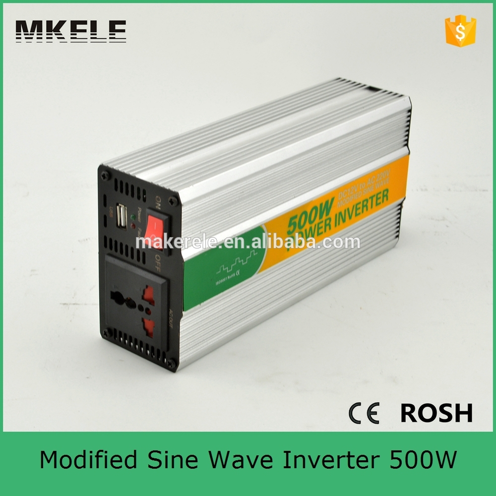MKM500-241G fast delivery midified sine wave 500w inverter 24v to 110vac single output general purpose micro inverter pcb board