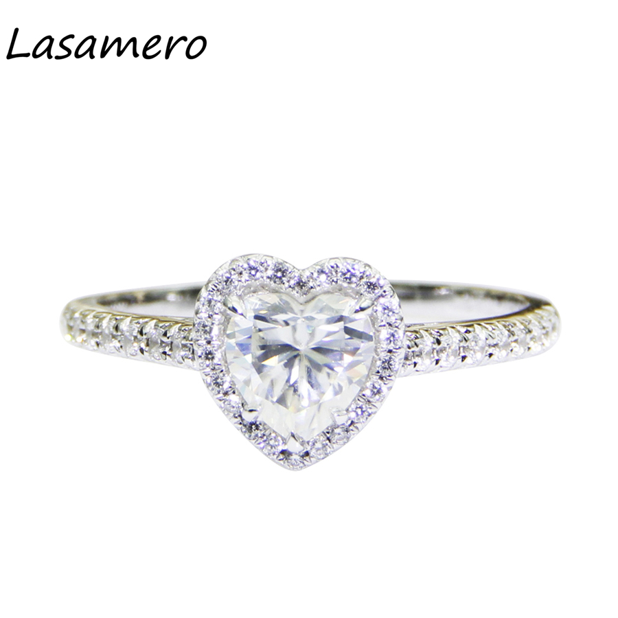 925 Sterling Silver Art Deco Wedding Engagement Ring Simulated Diamond