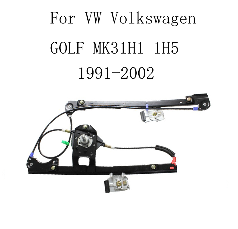 For VW  GOLF MK3 1H1 1H5 1991-2002 Power Electric Car Window Regulator Window Lifter Replacement Front Right 1H0837462