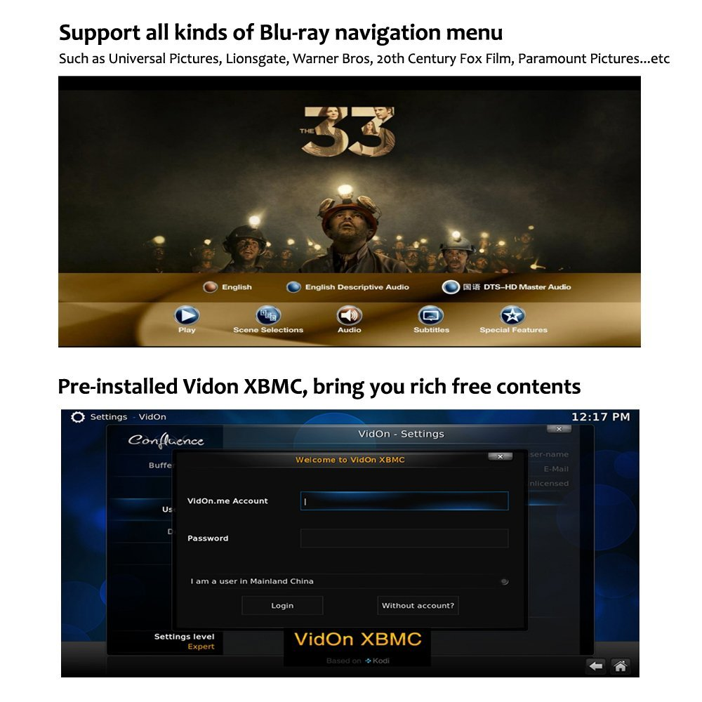 Купить с кэшбэком Egreat A5 UHD Smart Android 5.1 TV Box 3D 4K Media Player with HDR USB3.0 SATA OTA 3D Blu-ray ISO Playback Disc Dolby Ture-HD