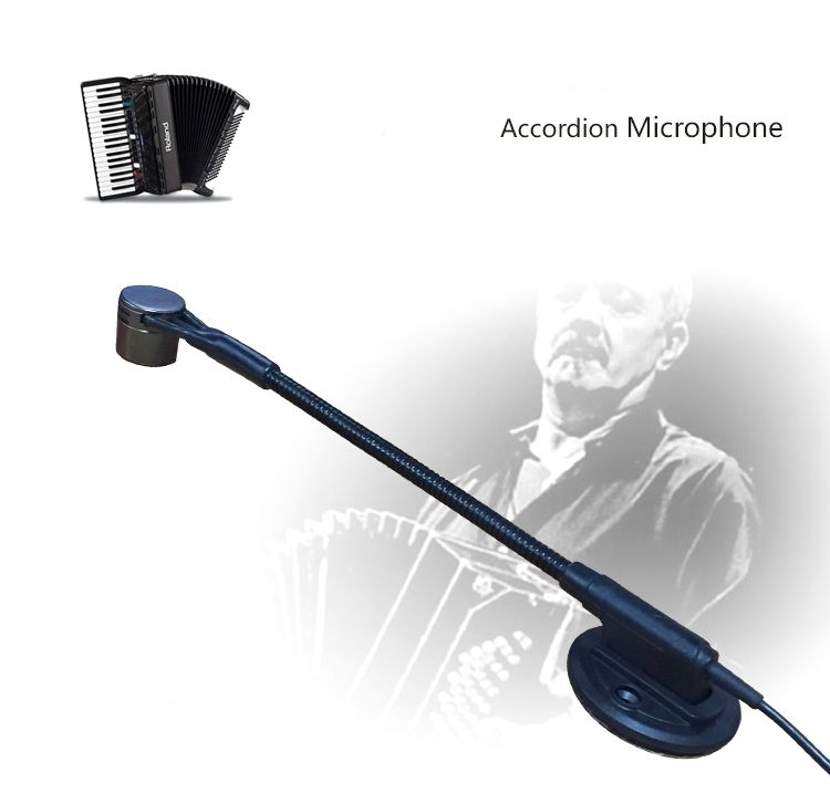ACEMIC AT 10 Pro Wireless Accordion Microphone High Fidelity Voice 3m Cable