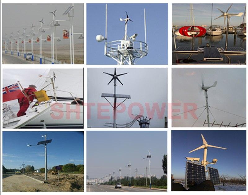 lâminas max 630 w turbinas eólicas pequena