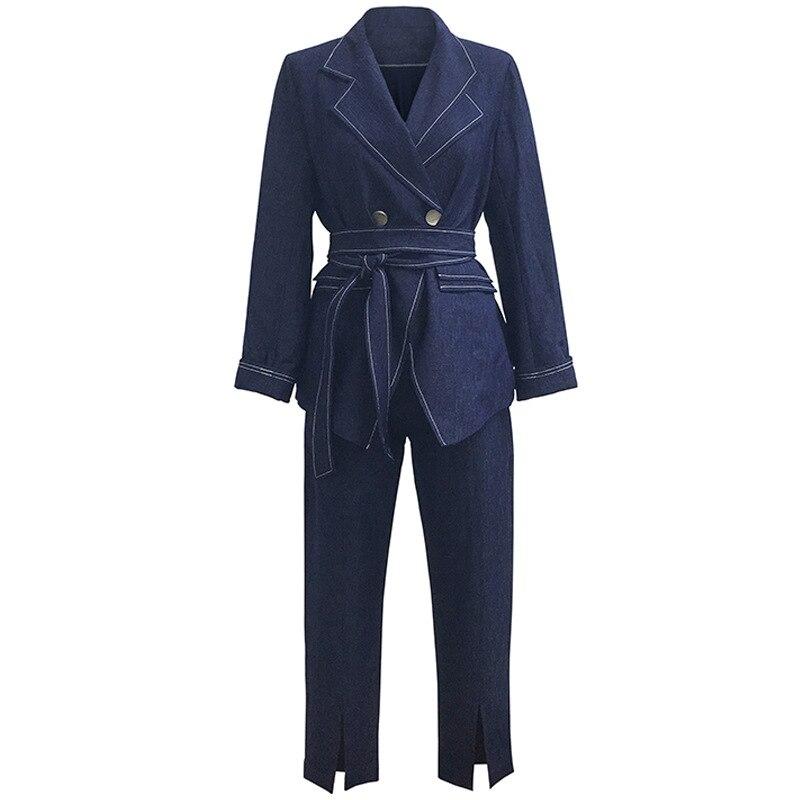 2019 New Large Size Suit Fat MM Slim Suit Belt Belt Tightness XL 2XL 3XL 4XL 5XL High Quality Women Fashion Suit Gothic