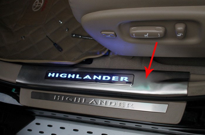 toyota highlander 2011 скре