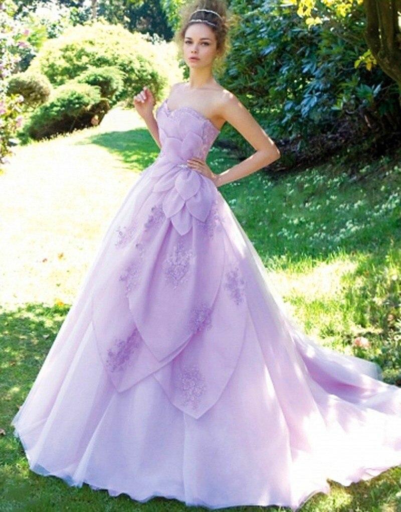 2016 Modern Women Dress Dress Weddingdress Organza Bruidsjurken ...