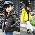 Princess children's clothing female winter child 2016 child big boy cotton-padded jacket cotton-padded jacket wadded jacket