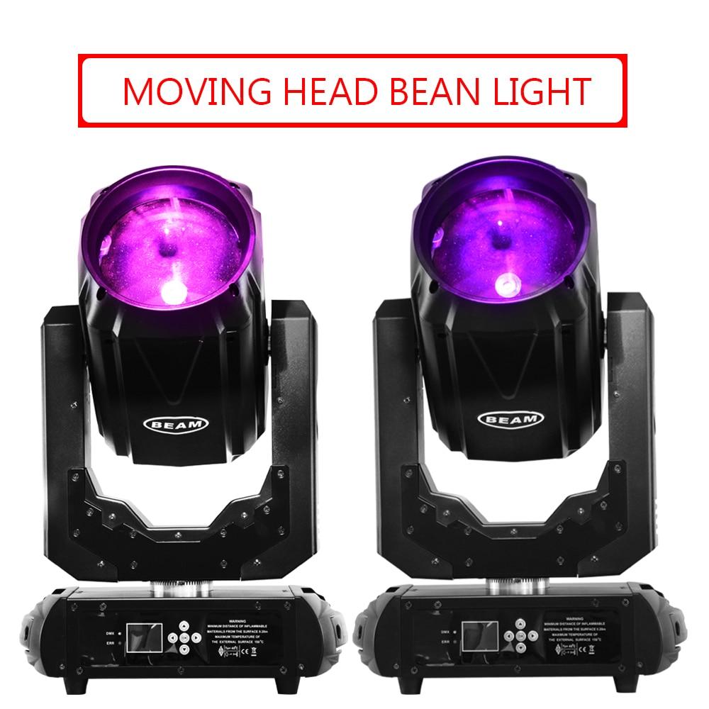 DJ Lights 260W Colorful Sharp Beam Moving Head Light Double Prisms DMX Stage Lighting(2pcs/lot)
