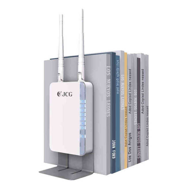 US $105 32 |New JCG JHR N805R 2 antenna wireless wifi router repeater wi fi  roteador booster repetidor mifi access point extender-in Wireless Routers