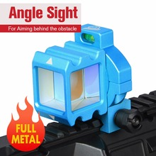 E.T Dragon Angle Sight Full Metal Reflect Airsoft Mirror Corner 360 Rotate Reddot Holographic For Wargame CQB PP1-0401