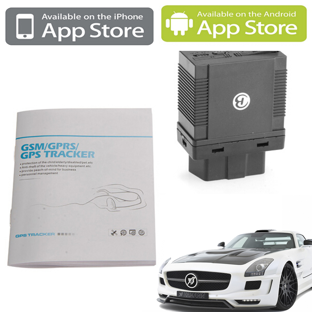 GPS GSM GPRS Tracking OBD II Vehicle Tracker GPS306A goole SMS Real time tracking