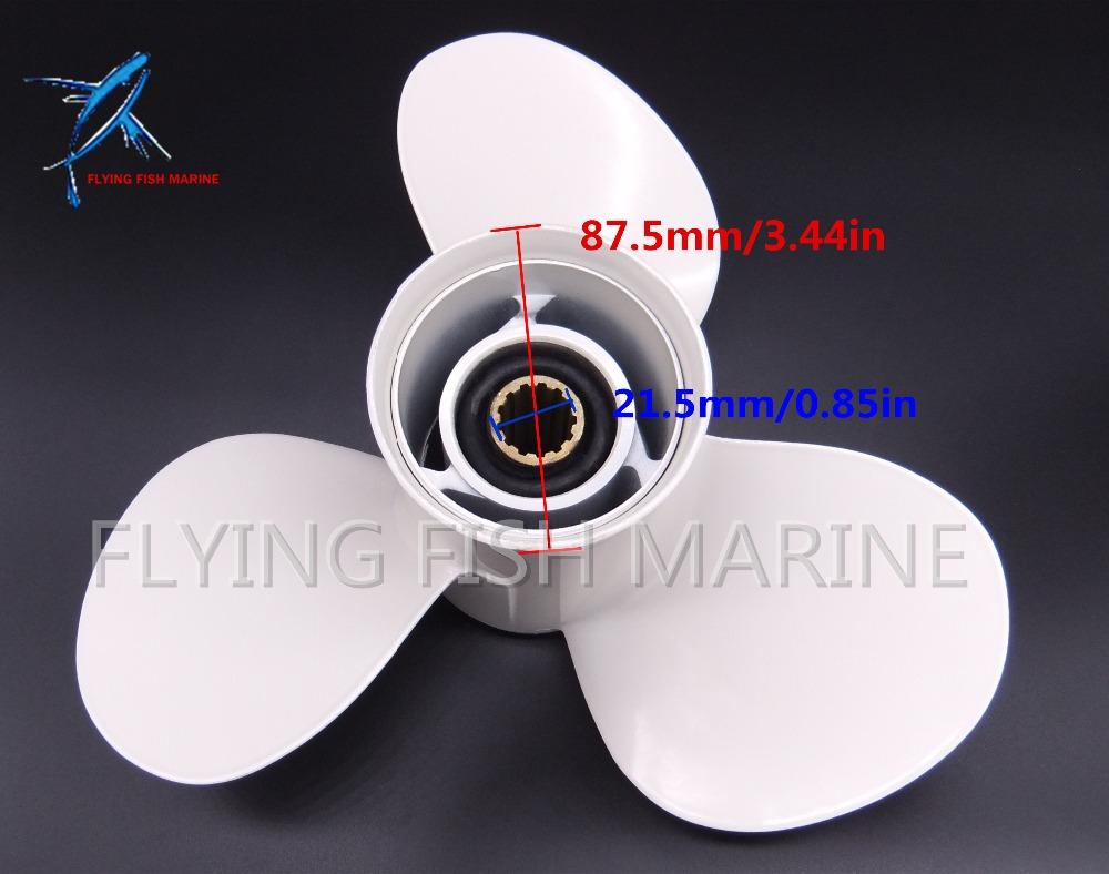 Outboard Motor Aluminum Alloy Propeller 11 3/8x12 for Yamaha 25HP 30HP 40HP 45HP 50HP 55HP 60HP 69W-45952-00 2018 new focallure smooth glow cheek color blusher palette natural mineral makeup silky blush bronzer powder