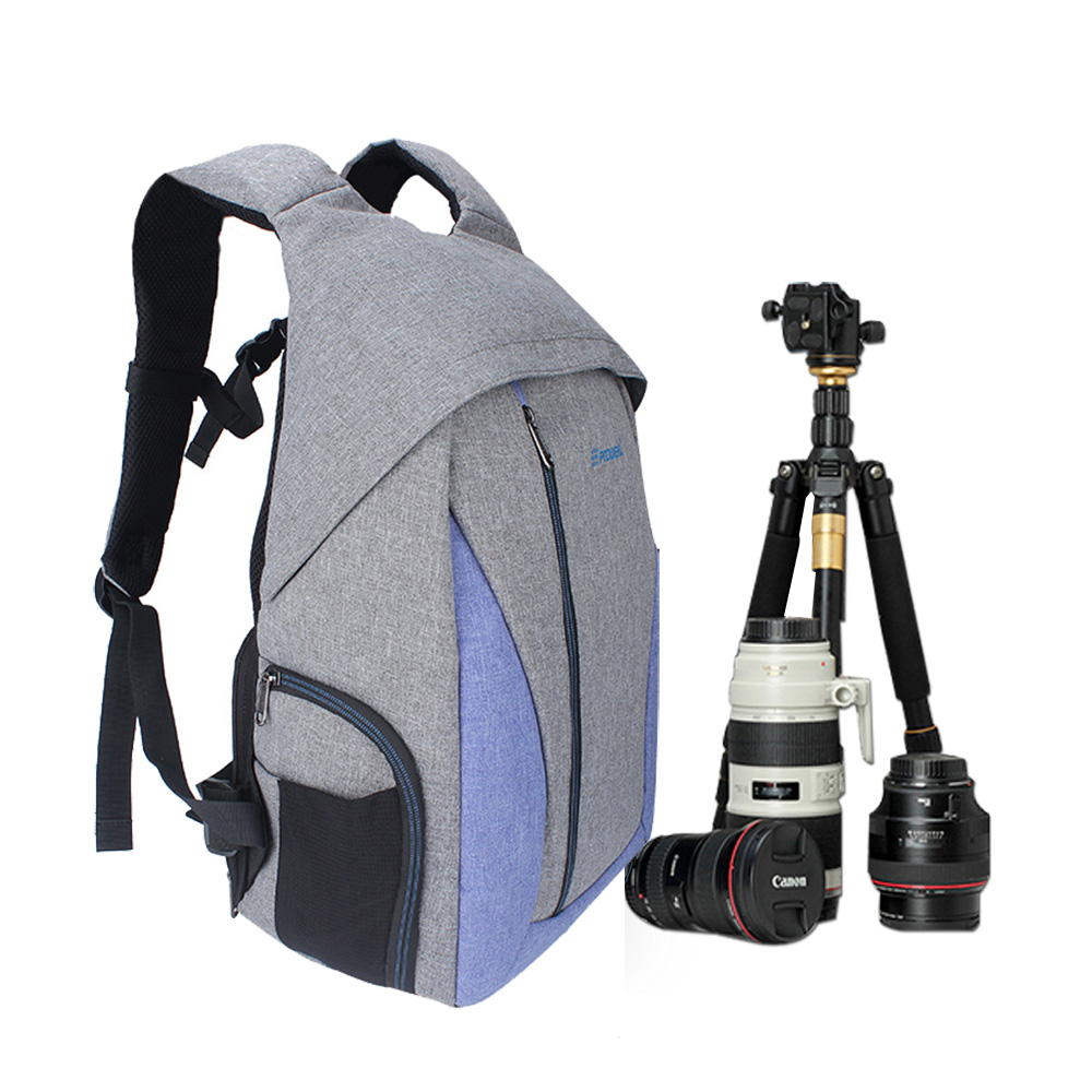 Photo Backpack DSLR Camera Bag Case Lens Pouch For Pentax Fujifilm Panasonic Olympus Canon Sony alpha Nikon Camera Bag