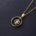 New style Fashion Jewelry Stainless Steel Luxury Women Gold Plated Long Necklaces & Clover Pendants for Women Girl Gift 01514