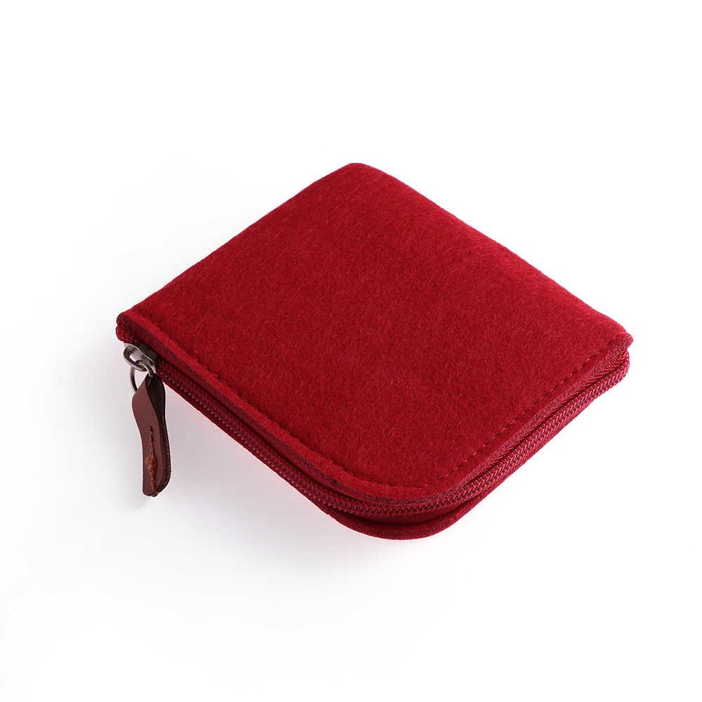 Mulheres Homens Mudança Bolsa De Crédito ID Card Titular Coin Bolsas Mini Carteiras Bolsa Da Moeda Barata Sentiu Saco de Dinheiro Bolsa de Zero alta Qualidade