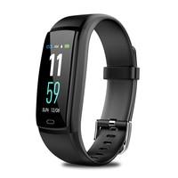 Y9 Bracelet Female Physiological Smart Watch Health Care Fitness Tracker Sleep Monitor For Girlfriend Women Lady