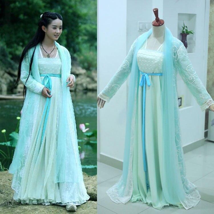 10 designs 2015 Newest TV Play Journey of the Flower Hua Qian Gu Actress Qian Gu