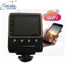 Caméra sans fil de vue panoramique de voiture de Relee DVR 360 degrés pour la caméra de tableau de bord de voiture 1080 P enregistrement vidéo de Vision nocturne caméra WIFI