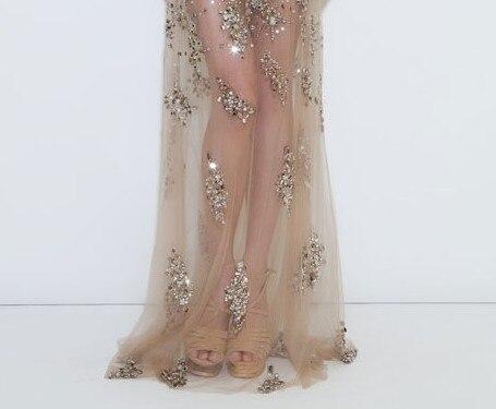 Luxury Real Photos Custom Long Prom Dresses Evening Abendkleider ...