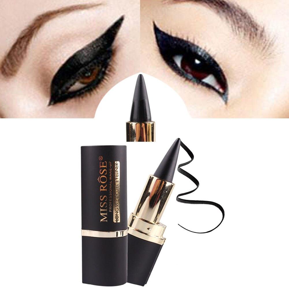 Miss Rose карандаш для макияжа глаз, Длинные гелевые наклейки для глаз, водостойкий макияж, инструменты MV99