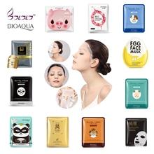 BIOAQUA Skin Care Plant Facial Mask Moisturizing Oil Control