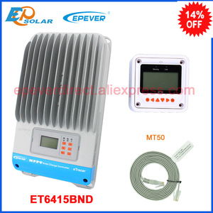 Image 1 - EPSolar MPPT 12v 24v 36v 48v auto work solar panel controller ET6415BND with MT50 remote meter for real time monitor 60A 60amp