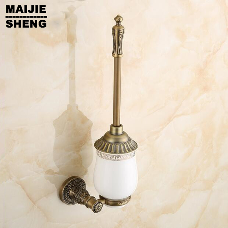 Archaize toilet rack holder Bathroom hardware accessories Toilet brush holder Antique brass bathroom toilet brush holder suits antique brass bathroom toilet c eaner brush holder archaize toilet rack holder bathroom hardware accessories toilet brush holder