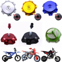 TDPRO New CNC Aluminum Gas Fuel Tank Cap Cover Breather Vent For ATV Dirt Pit Bike Motorcycle Apollo 50cc 110cc 125cc Go Kart