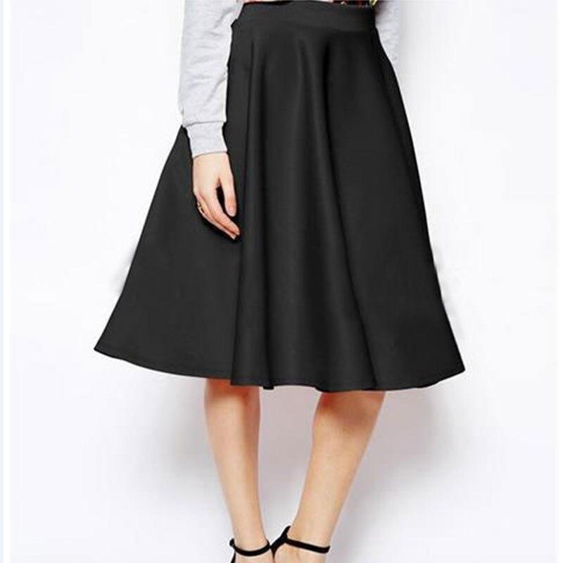 Hohe Qualität Frauen Dame Casual Mode Sommer Hohe Taille Ausgestelltes Plissee Geschäfts A-linie Einfache Lange Maxi Kleid Rock Rosa//Schwarz