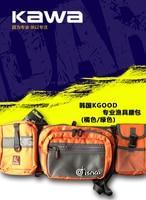 카와 신제품 루어 낚시 가방  특수 미끼 낚시 도구  다기능 포켓  방수 낚시 가방