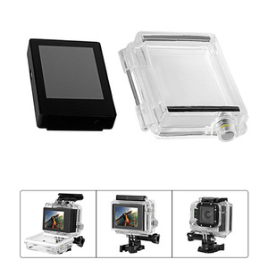 Image 3 - Accessories For GoPro Lcd Screen Non Touch BacPac Lcd display monitor +Expanded Backdoor Cove For GoPro Hero 4 3+ 3 Black Camera