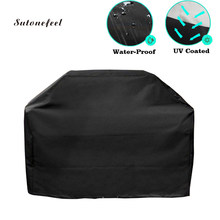 BBQ Covers to Resist Rain and UV Oxford Dust Cover for BBQ Grill Barbecue Cover Case to Protect Gas Charcoal BBQ Accessories(China)