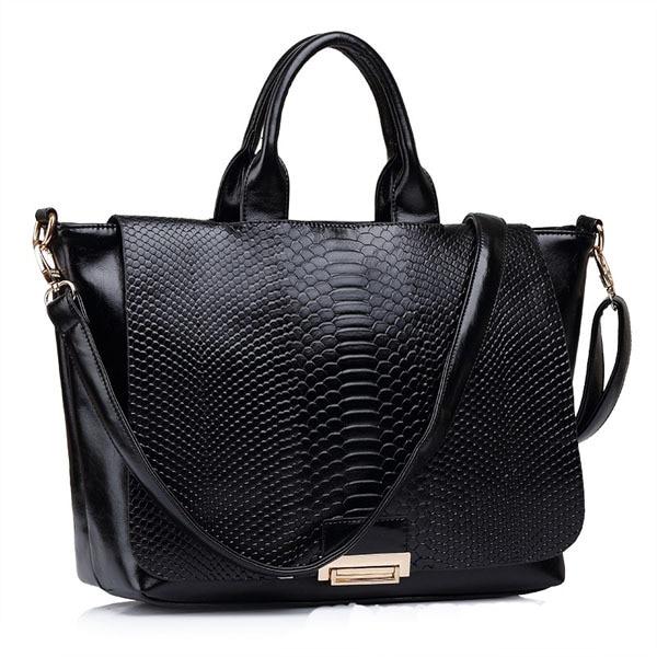 ФОТО 2017 new tide women handbag serpentine pattern shoulder bag crossbody bag fashion bolsas hot sale women messenger bags 3 colors