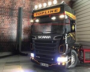 Новый светодиодный прожектор с пультом дистанционного управления для грузовиков, крыш, Солнцезащитный Светодиодный прожектор для тамий, 1:...