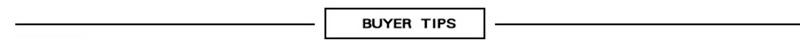 buyer tip
