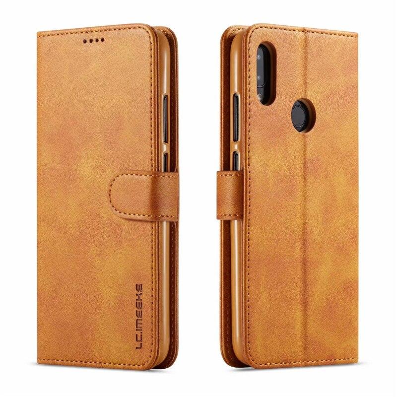 Luxe Leather Flip Case Voor Xiaomi Redmi Note 7 Pro 6 Card Slot Wallet Cover Funda 4X Telefoon
