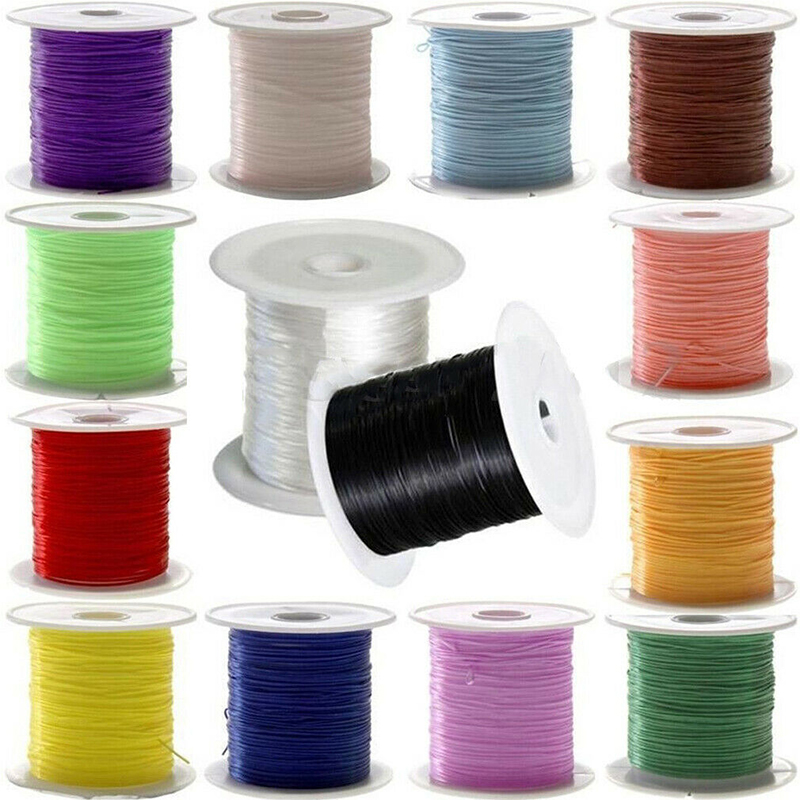 Strong Elastic Stretchy Beading Thread Cord Bracelet String For Jewelry DIY