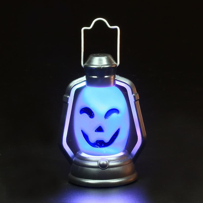 Mini Śmieszne LED Kolorowe Hallowmas Latarnia Przenośne